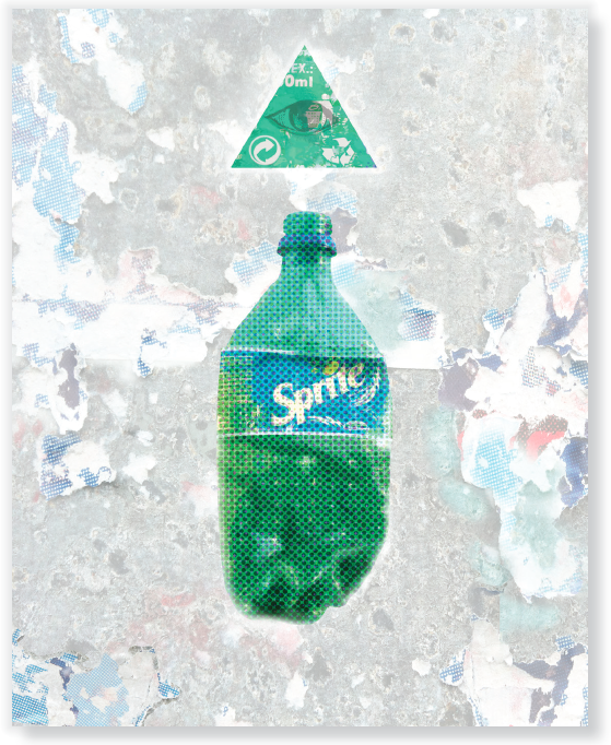 Trash goes to heaven -  Sprite